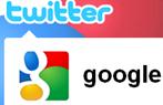 Google in Twitter