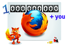one billionth Firefox download