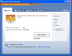 Microsoft Security Essentials Final Version Released