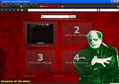 Opera Halloween browser