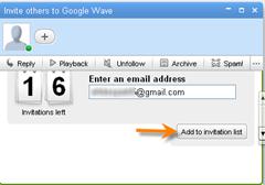 google wave invite
