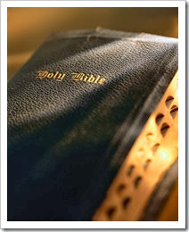 Bible front view