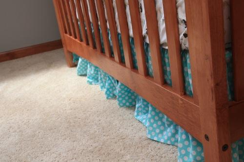 Crib skirt 8