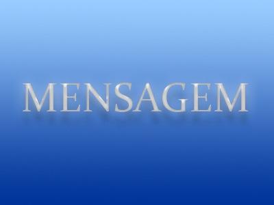 MENSAGEM