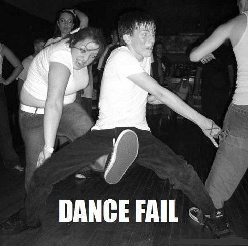 DANCE FAIL