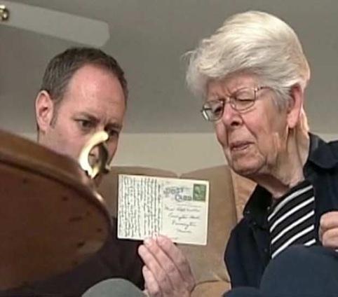 cartão postal é entregue com 64 anos  de atraso nos EUA