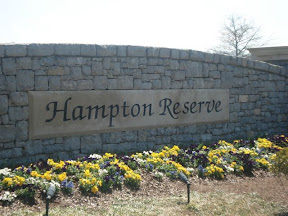 Hampton Reserve Entrance