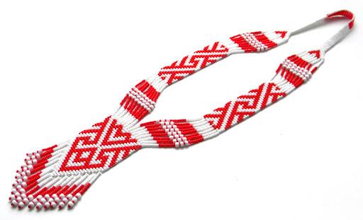 купить гердан (гайтан) с украинским орнаментом Anabel