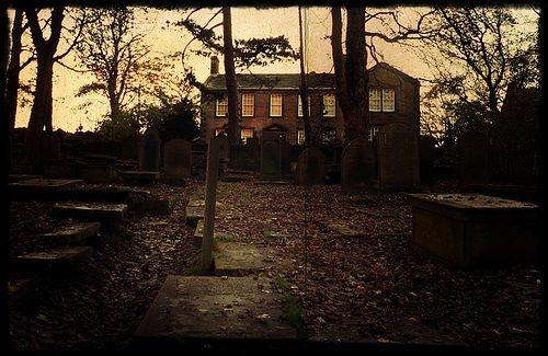 Plebania w Haworth / zdjęcie znalezione w sieci