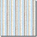Simple Nature - Circle Stripe Blue #42282-142