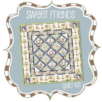 Sweet Friends Quilt Kit