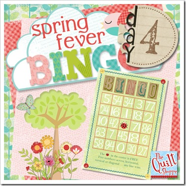 Spring Fever Bingo Day Four