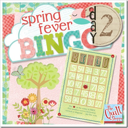 Spring Fever Bingo Day Two
