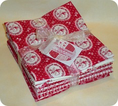 Chelsea Manor Fat Quarter Bundle - Red