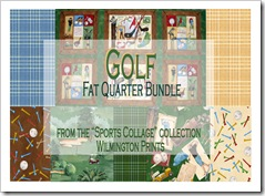 Golf Fat Quarter Bundle