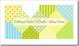 Bubblegum Basics FQ Bundle Yellow/Green