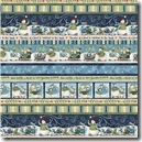 Winter Friendships - Border Stripe #1728-120