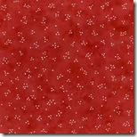 Peppermint Cottage - Dots Red #198-1
