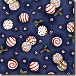 Peppermint Cottage - Peppermints Blue #201-2