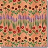 Angels Among Us - Garden Flowers Terra Cotta #20856-T