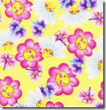 Happy Flowers - Flowers & Butterflies Yellow #DD28Yellow
