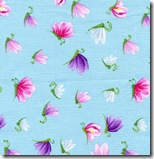 Happy Flowers - Insects Blue #DD29Blue