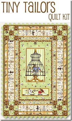 Tiny Tailors Quilt Kit #TT-KIT