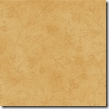 Tiny Tailors - Floral Tonal on Ochre #21016-S