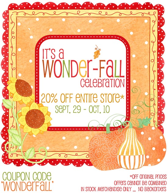 It's a Wonder-Fall Celebration!