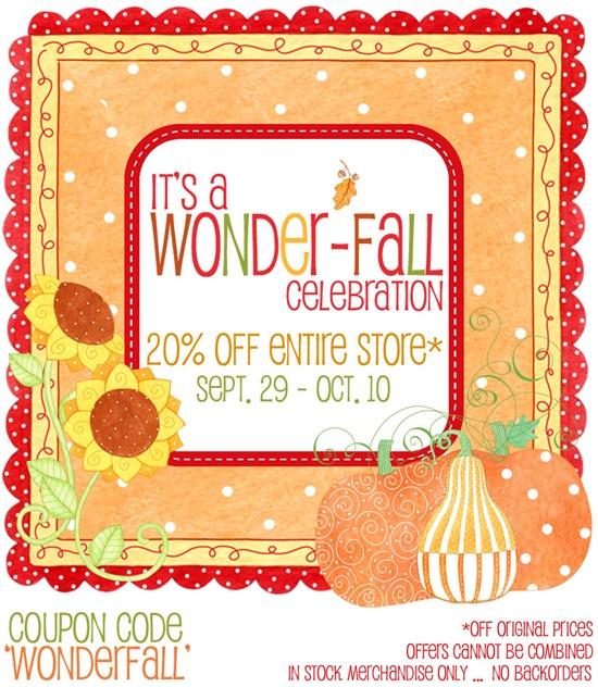It's a Wonder-Fall Celebration!