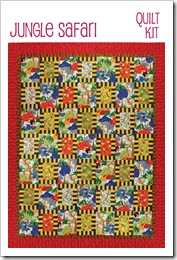 Jungle Safari Quilt Kit