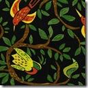 Safari So Good - Birds on Vine Black #432K