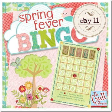 Spring Fever Blog Bingo Day Eleven