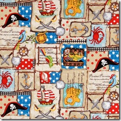 Pirates - Patchwork #489-1