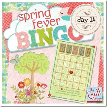 Spring Fever Blog Bingo Day 14