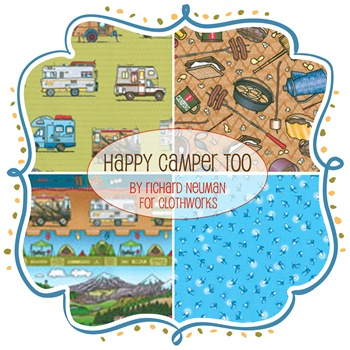 Happy Camper Too by Richard Neuman for Clothworks