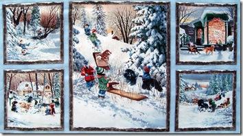 Winter's Gleam - Panel #15-412