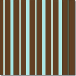 Into the Woods - Stripe Aqua #507-32