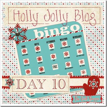 Holly Jolly Blog Bingo ... Day Ten