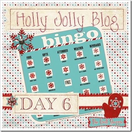 Holly Jolly Blog Bingo ... Day Six