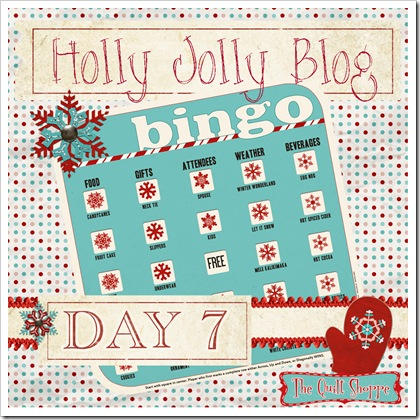 Holly Jolly Blog Bingo ... Day Seven