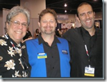 with Joe Klein (left) and Rick Calvert Middle, me right