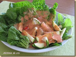 salade Pissenlit-pousses de betteraves