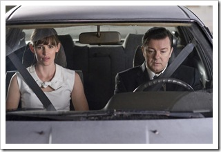 Jennifer Garner (Anna) and Ricky Gervais (Mark) in THE INVENTION OF LYING.