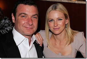Liev Schreiber and Naomi Watts attend the after party following the 64th Annual Tony Awards at Rockefeller Center on June 13, 2010 in New York City.
