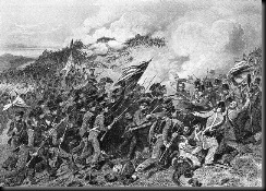 US Infantry at the Battle of Cerro Gordo