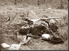 Dead Soldier at Spotsylvania