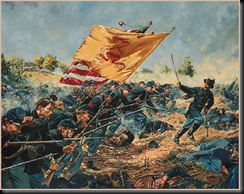 1st Maine Heavy Artillery attack at Cold Harbor