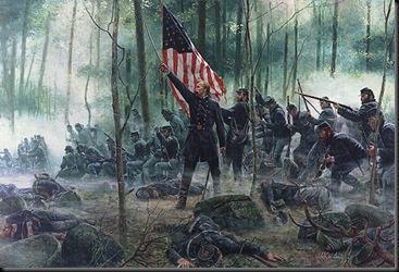 Chamberlain and the 20th Maine at Little Round Top