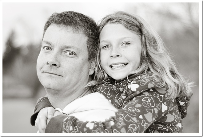 Gord and carleigh bw